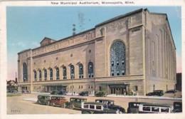 Minnesota Minneapolis New Municipal Auditorium 1939 - Minneapolis