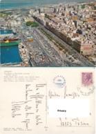 Cagliari. Via Roma E Panorama (Parziale) Cecami 19 - Cagliari