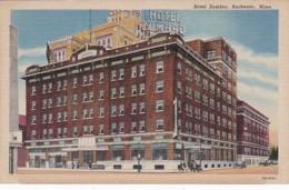 Minnesota Rochester Hotel Zumbro Curteich - Rochester