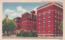 Minnesota Rochester Colonial Hospital Curteich - Rochester