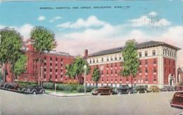 Minnesota Rochester Worrell Hospital And Annex 1945 - Rochester