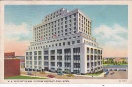 Minnesota St Paul Post Office And Customs House 1937 Curteich - St Paul