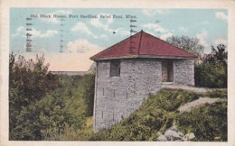 Minnesota St Paul Old Block House Fort Snelling 1921 - St Paul