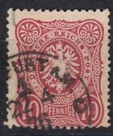 DR 33 Aa, Gestempelt, Geprüft PERTY, Krone Adler 1875 - Duitsland
