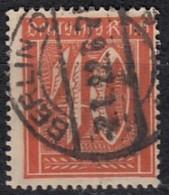 DR 163, Gestempelt, Geprüft, Ziffer 1921 - Germany