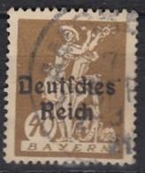 DR 124, Gestempelt, Geprüft, Bayern Aufdruck 1920 - Deutschland