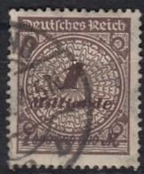DR 325 AWa, Gestempelt, Geprüft, Rosettenmuster 1923 - Deutschland
