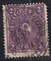 DR 191, Gestempelt, Geprüft, Posthorn 1921 - Germany