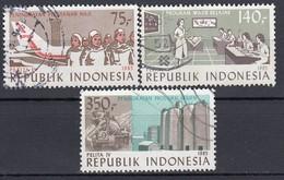 INDONESIEN 1985 - MiNr: 1165-1167 Komplett    Used - Indonesien