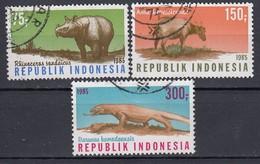 INDONESIEN 1985 - MiNr: 1187-1189  Komplett    Used - Indonesien