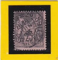 N° 97   + CACHET A DATE  - REF ACDIV - 1876-1898 Sage (Type II)