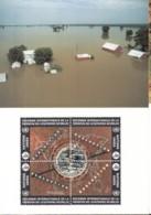 UNO GENF, 250-253 MC, Maximumkarte 26, Katastrophenvorbeugung 1994 - Maximum Cards