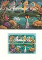 UNO GENF, 194-197 MC, Maximumkarte 2, Für Eine Besser Umwelt 1991 - Maximumkarten