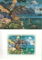 UNO WIEN, 110-113 MC, Maximumkarte 3, Für Eine Besser Umwelt 1991 - Maximumkarten