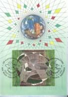 UNO WIEN, 152-155 MC, Private Maximumkarte Von Gerhard Eisenmann, Weltfriedenstag 1993 - Maximumkarten