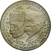 France, Médaille, Seconde Guerre Mondiale, Foch - Clémenceau, FDC - France