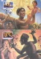 UNO GENF, 301-302 MC, Private Maximumkarten, UNICEF: Märchen Und Legenden 1996 - Maximumkarten