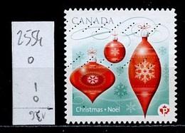 Canada - Kanada 2010 Y&T N°2554 - Michel N°(?) (o) - P Boules Rouges - 1952-.... Règne D'Elizabeth II