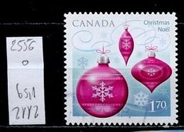Canada - Kanada 2010 Y&T N°2556 - Michel N°2675 (o) - 1,70€ Boules Roses - 1952-.... Règne D'Elizabeth II