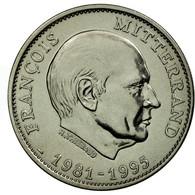 France, Médaille, Les Présidents De La République, François Mitterrand, FDC - France