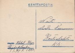 Feldpostkarte: Finnland 6.5.1944 - 1939-45