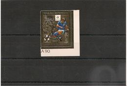 RÉPUBLIQUE CENTRAFRICAINE  Année 1981 Timbre** Sur Feuille D'or Côte : 17,75 € - Centrafricaine (République)