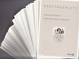BRD ETB 1996, Komplett, 41 Ersttagsblätter Mi. 1834-1894, Gestempelt - BRD
