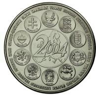France, Médaille, L'Europe Des XXV, Essai, 2004, FDC, Copper-nickel - France