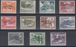 SCHWEIZ  BIT/ILO, 83-93, Postfrisch **, Int. Arbeitsorganisation 1950 - Service