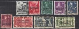 SCHWEIZ  ONU/UNO 12-20, Postfrisch **, Europäisches Amt Der UNO 1950 - Service