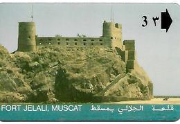 CARTE-n-MAGNETIQUE-OMAN-FORT JELALI MUSCAT-BE - Oman