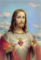 Gesù - Sacro Cuore - 14  - Formato Grande Non Viaggiata – E 9 - Cartoline