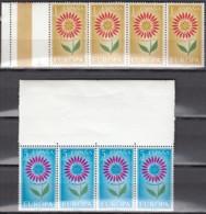 SPANIEN 1501-1502, Postfrisch **, Mint, 4erEinheit, Europa CEPT: Blume 1964 - 1961-70 Neufs