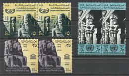 EGYPTO YVERT  663/65  (PAREJA)  MNH  ** - Egipto
