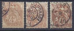 No 110.a.b.  0b - Oblitérés