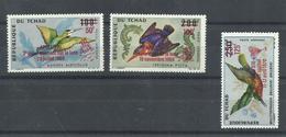 TCHAD  YVERT  AEREO 66/68  MNH  ** - Tchad (1960-...)