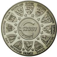 France, Médaille, L'Europe, La Semeuse, 2001, FDC, Copper-nickel - France