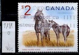 Canada - Kanada 2005 Y&T N°2189 - Michel N°2306 (o) - 2$ Chevaux - 1952-.... Règne D'Elizabeth II