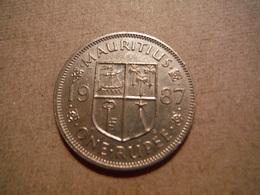 P92   Mauritius - One Rupee 1987 - Maurice