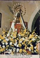 Santino - Vera Effige Di Maria Ss. Del Tindari Che Si Venera Nella Chiesa Della Tonnara Del Tono Di Milazzo - Cartes Postales