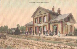 ROCROI    Gare D'Hiraumont - France