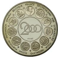 France, Médaille, L'Europe, La Semeuse, 2000, FDC, Copper-nickel - France