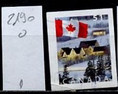 Canada - Kanada 2005 Y&T N°2190 - Michel N°2307 (o) - 51c Drapeau National - 1952-.... Règne D'Elizabeth II