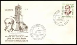 BER SC #9N150 1958 Ernst Reuter FDC 09-29-1958 - [5] Berlin