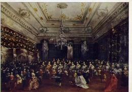 Wiechmann - Bildkarten - Kunst Fur Alle - Francesco De Guardi - Venezianisches Galakonzert - Munchen - Pinakothek - Form - Cartoline