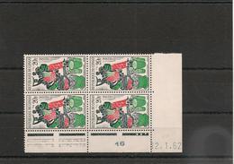 CONGO  Année 1962 Bloc De 4 Coin Daté N° Y/T :149** - République Du Congo (1960-64)
