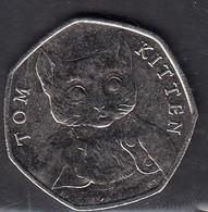 2017 50p Tom Kitten - 50 Pence