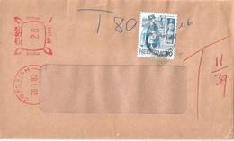Taxierter Brief  Corcaigh Eire - Schweiz         1989 - Suisse