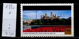 Canada - Kanada 2001 Y&T N°1870 - Michel N°1987 (o) - 1,05d Festval Des Tulipes - 1952-.... Règne D'Elizabeth II
