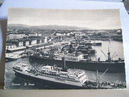 1956 - Livorno - Il Porto - Nave - Pescherecci - - Commercio